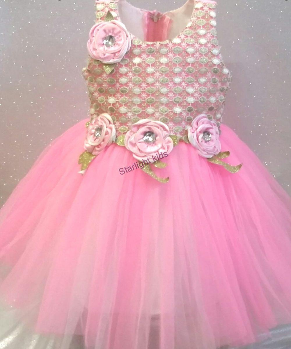 Pastel Pink Party Dress