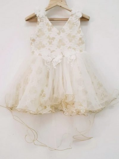 baby Gold and Champagne Dress