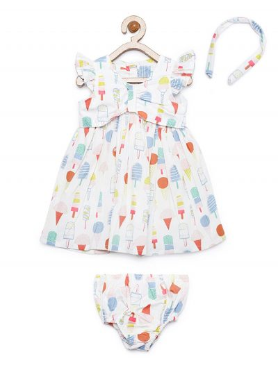 Baby-and-toddler-ice-cream-print-cotton-dress