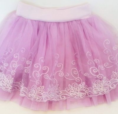 baby casual lilac tutu skirt