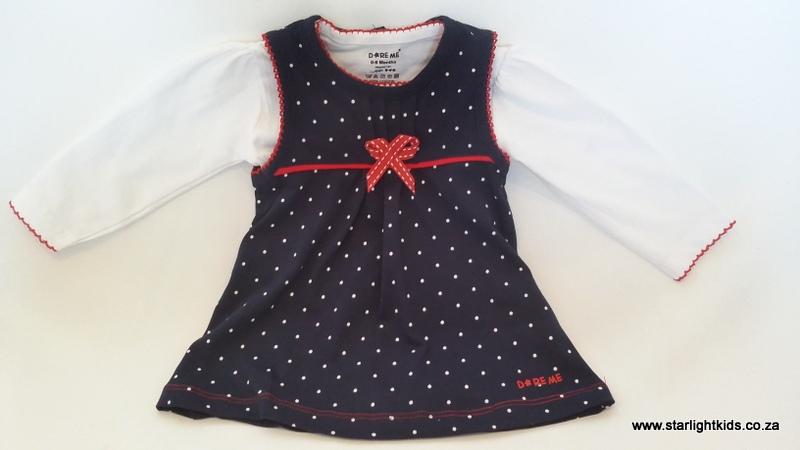infant blue cotton top