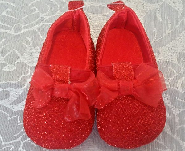 (Infant red shoe)(IS610) ( R140)( 6-12mx1)