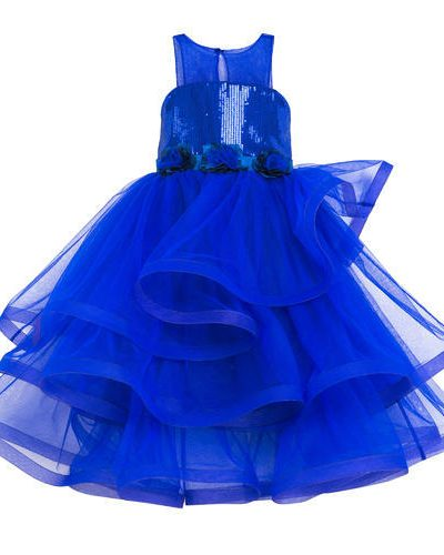 Royal blue pageant dress