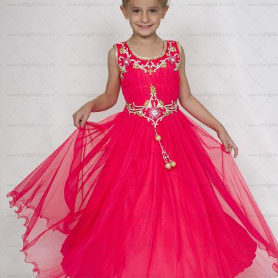 Girl Formal Scarlet Dress
