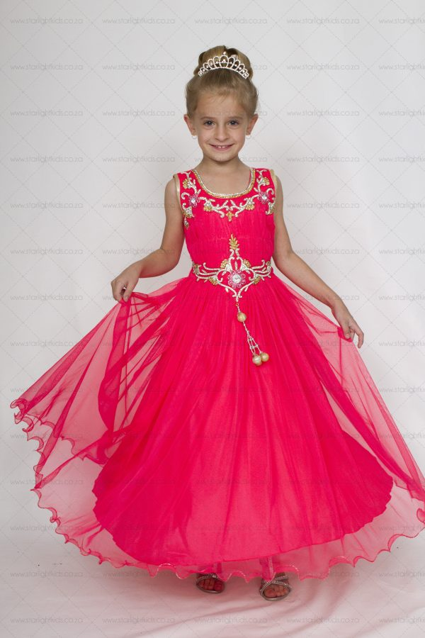 Girl Formal Scarlet Dress