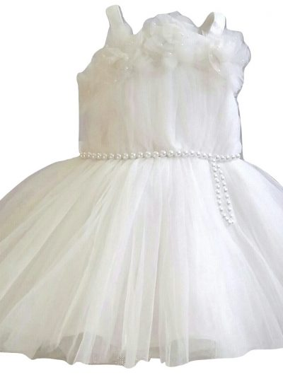 baby cream soft tulle party dress